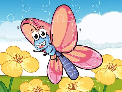 Play Butterflies Jigsaw Now!