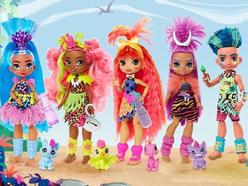 Play Cave Club Dolls Jigsaw Puzzle Collection Now!