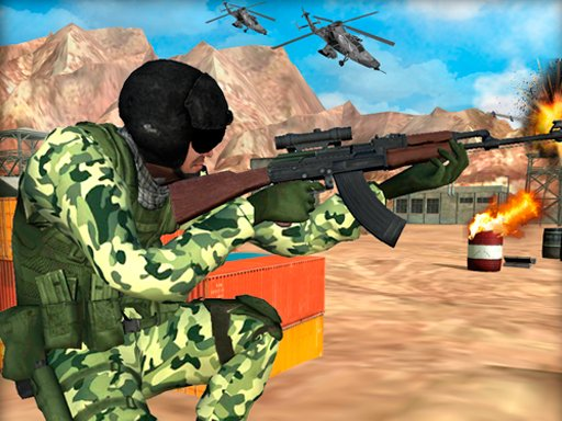 Play Frontline Army Commando War Now!