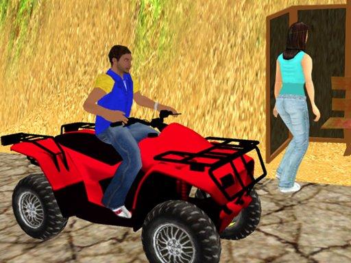 Play Traffic Racer Quad Bike Game Now!