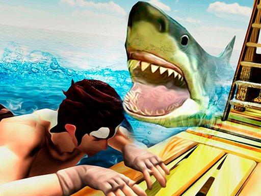 Play Raft Shark Hunting Now!