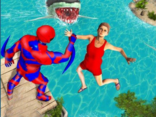 Play Superhero Police Speed Hero:Rescue Mission Now!