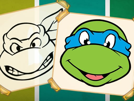 Play Ninja Turtles Coloring Book Now!