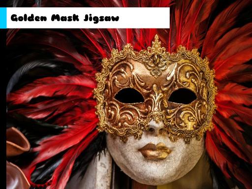 Play Golden Mask Jigsaw Now!