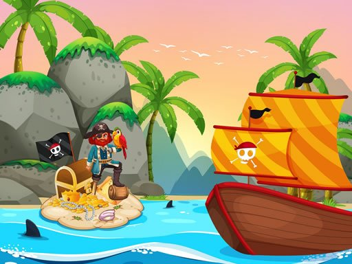Play Pirate Travel Coloring Now!