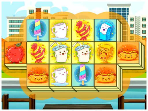 Play Foody Triple Mahjong Now!