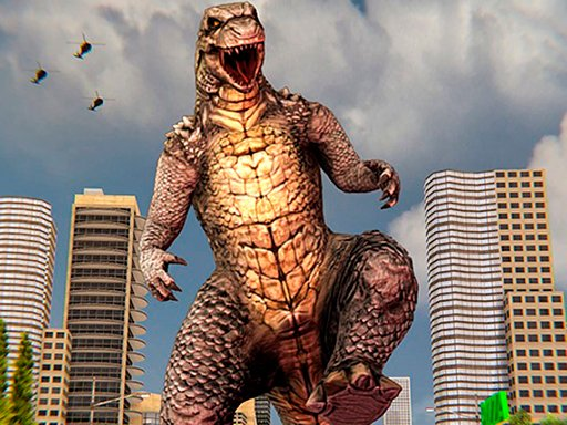 Play Monster Dinosaur Rampage City Attack Now!