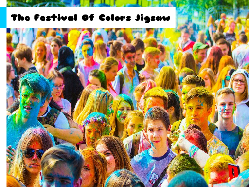 Play The Festival Of Colors Jigsaw Now!