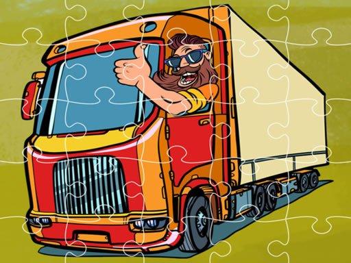 Play Semi Trucks Jigsaw Now!
