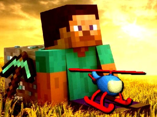 Play Minecraft Helicopter Adventure Now!