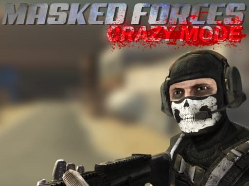 Play Masked Forces Crazy Mode Now!