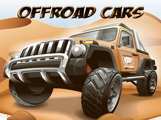 Play Offroad Cars Jigsaw Now!