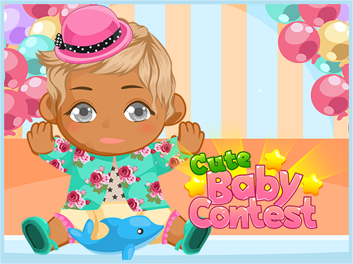 Play Cute baby contest Now!