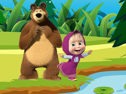 Play Masha and the Bear Jigsaw Puzzles Now!