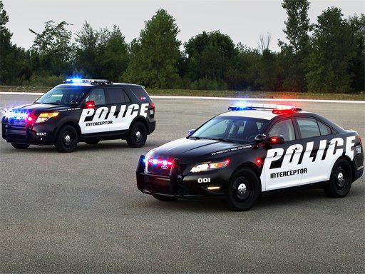 Play Police Cars Puzzle Now!