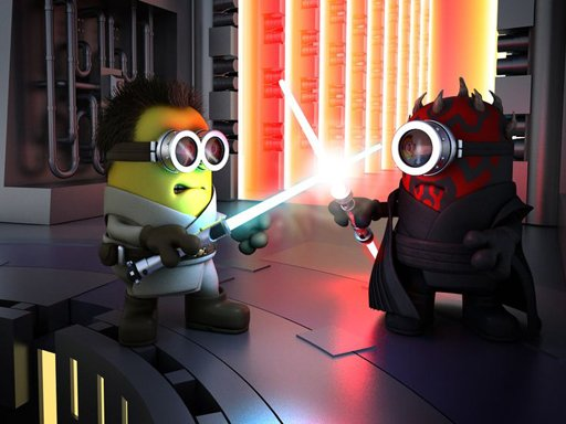 Play Minions Star Wars Jigsaw Puzzle Now!