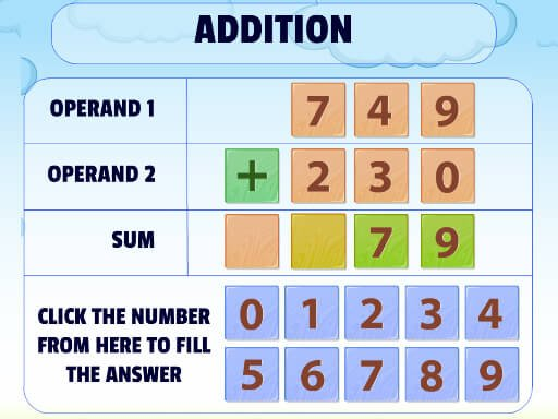 Play Addition Practice Now!