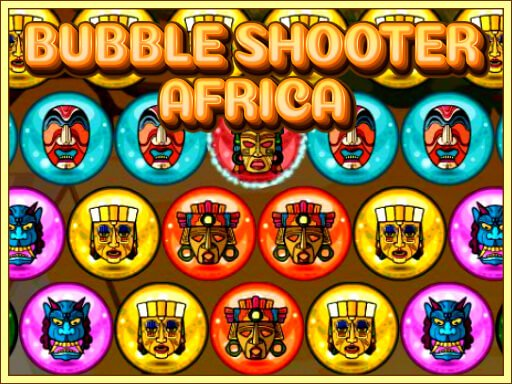 Play Bubble Shooter Africa Now!