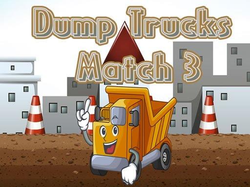 Play Dump Trucks Match 3 Now!