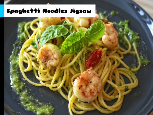 Play Spaghetti Noodles Jigsaw Now!