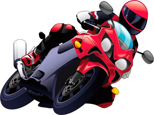 Play Cartoon Motorcycles Puzzle Now!