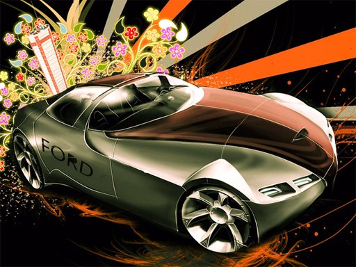 Play Cool Cars Jigsaw Puzzle 2 Now!