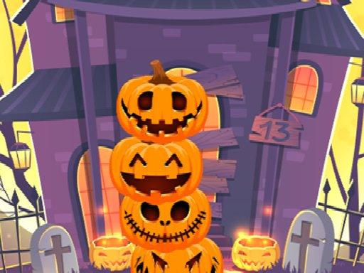 Play Pumpkin tower halloween Now!