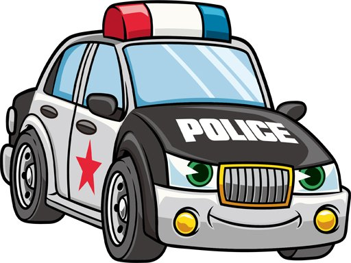 Play Cartoon Police Cars Puzzle Now!