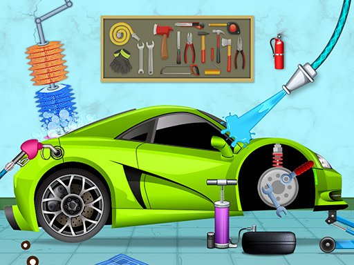 Play Cars wash Now!
