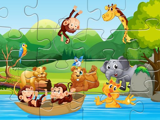 Play Animals Puzzle Now!