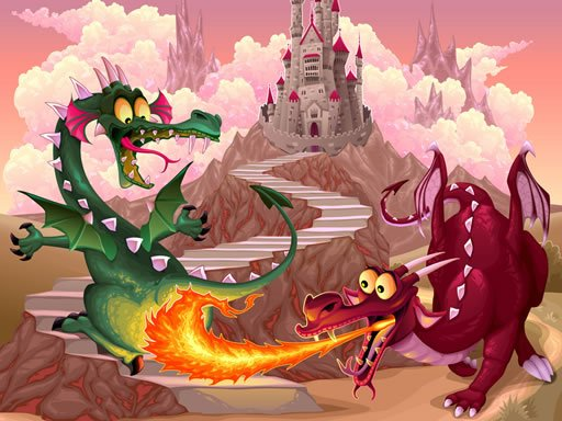 Play Fairy Tale Dragons Memory Now!
