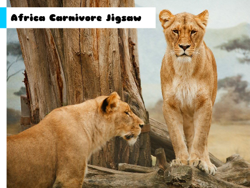 Play Africa Carnivore Jigsaw Now!