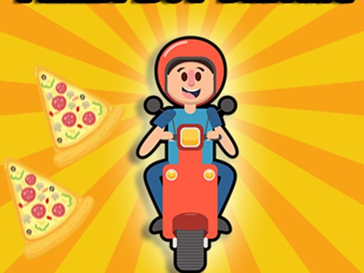 Play Pizza boy driving Now!