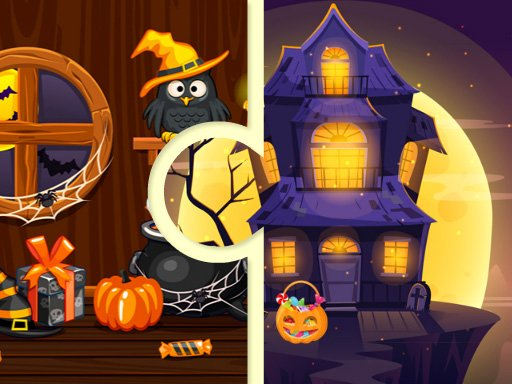 Play Witchs House Halloween Puzzles Now!