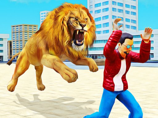 Play Lion Simulator Attack 3d Wild Lion Games Now!