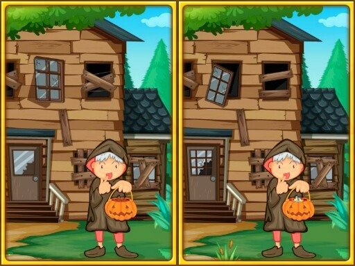 Play Spot The Differences Halloween Now!