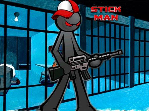 Play Stickman Adventure Prison Jail Break Mission Now!