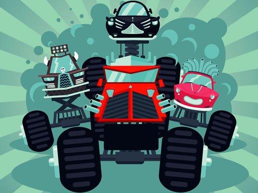 Play Crazy Monster Trucks Memory Now!