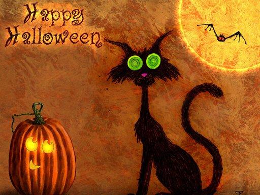Play Happy Halloween 2020 Puzzle Now!