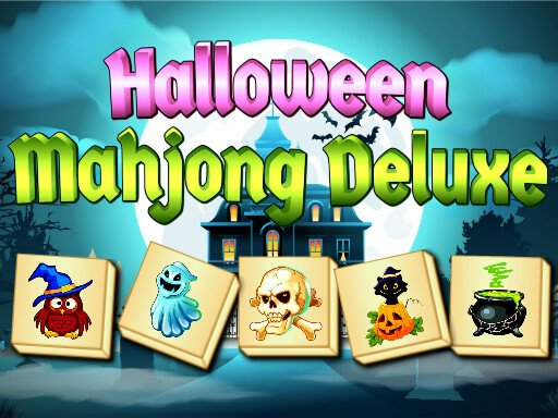 Play Halloween Mahjong Deluxe Now!