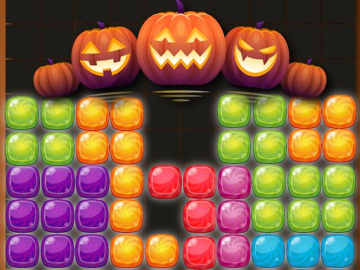 Play Candy Puzzle Blocks Halloween Now!