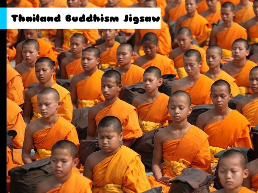 Play Thailand Buddhism Jigsaw Now!