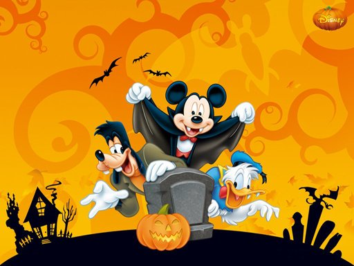 Play Disney Halloween Jigsaw Puzzle Now!