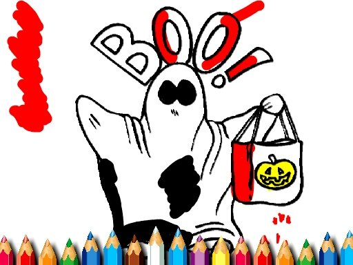 Play Halloween Coloring Book Now!