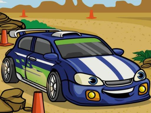 Play Racing Cartoons Jigsaw Now!