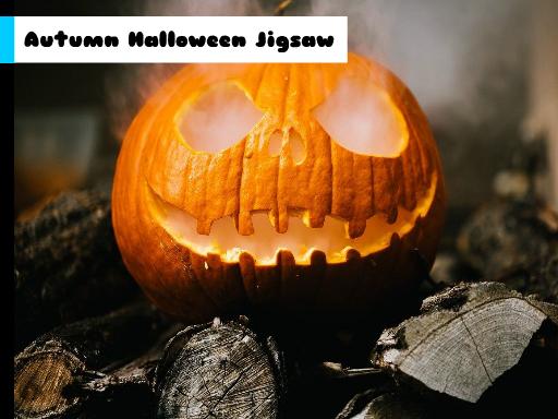 Play Autumn Halloween Jigsaw Now!