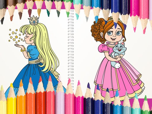 Play Princess Coloring Book Now!
