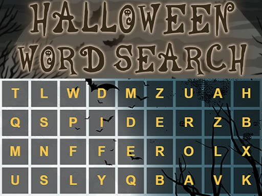 Play Halloween Word Search Now!