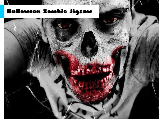Play Halloween Zombie Jigsaw Now!