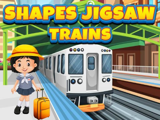 Play Shapes Jigsaw Trains Now!